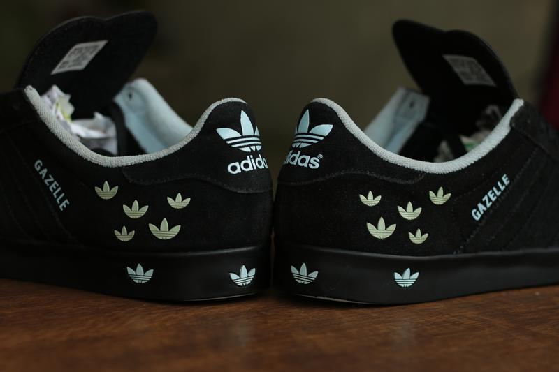 Мужские кроссовки adidas originals gazelle 2 trefoil - Фото 8