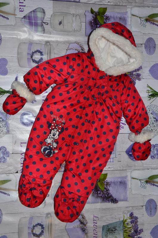 Disney baby, оригинал, франция. комбинезон 3-6мес.