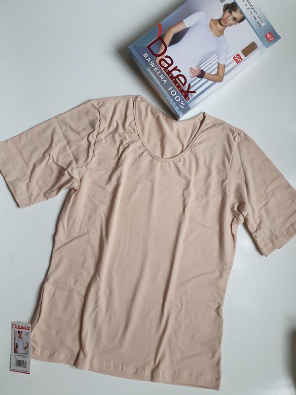 Женская хлопковая футболка darex