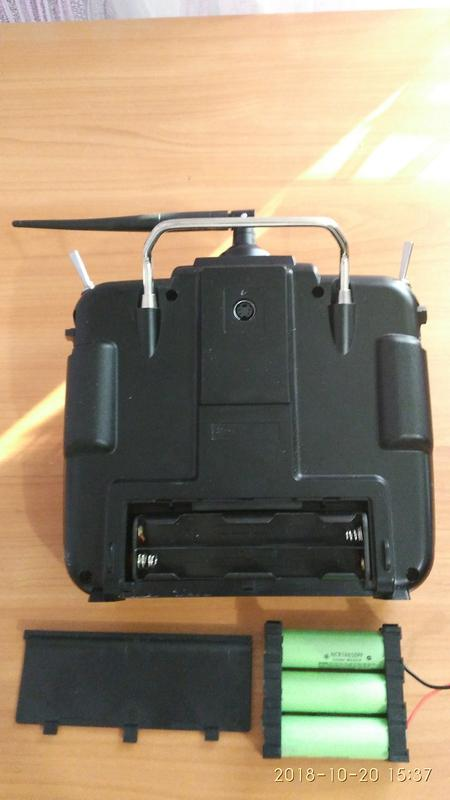 Пульт управления Radiolink AT10 II  R12DS для авиамоделей - Фото 3