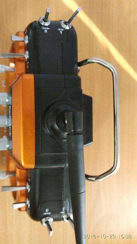 Пульт управления Radiolink AT10 II  R12DS для авиамоделей - Фото 4