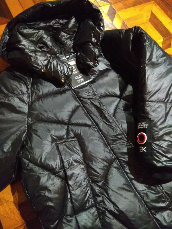 Пуховик. зимняя зима))). оверсайз, куртка кокон, куртка бойфренд - Фото 3