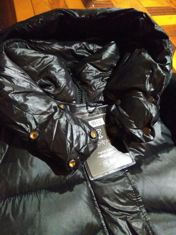 Пуховик. зимняя зима))). оверсайз, куртка кокон, куртка бойфренд - Фото 4