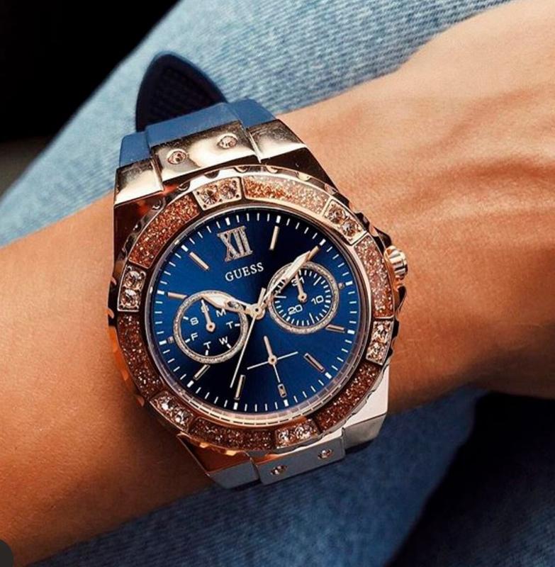 Женские часы guess w1053l1 из коллекции jennifer lopez for guess.