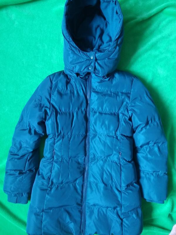 Малахитовый не продуваемый пуховик тёплая куртка пальто