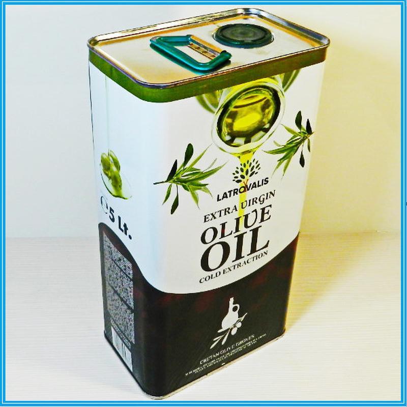 Масло оливковое «Олимп». Греция. 3л. - Фото 4