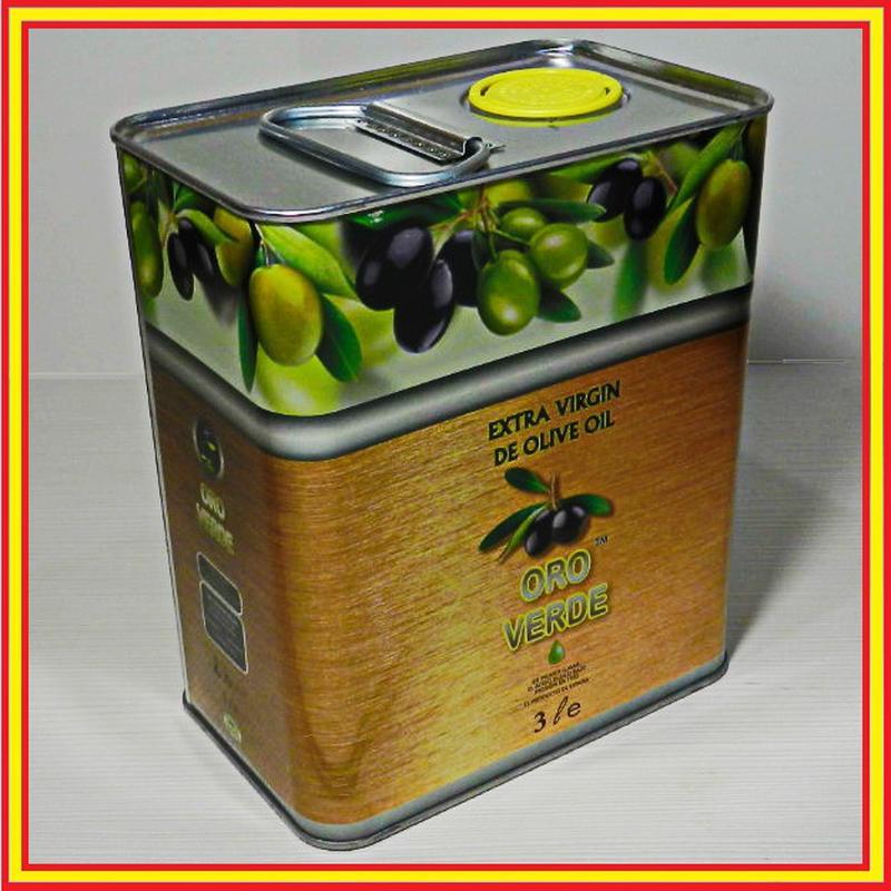 Оливковое масло «Ора Верде». Испания. 3л.