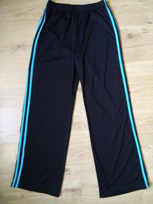 Классные эластичные спортивные брюки штаны