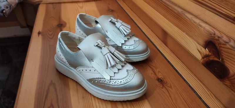 Черевички туфлі для дівчинки Geox розмір 30 шкіра