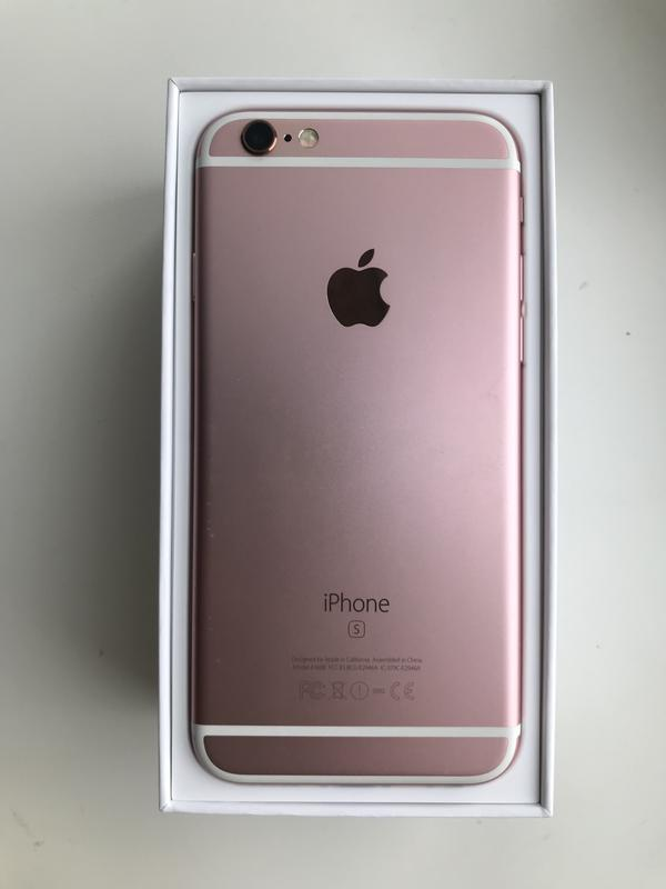 IPhone 6s 16 gb rose gold - Фото 5