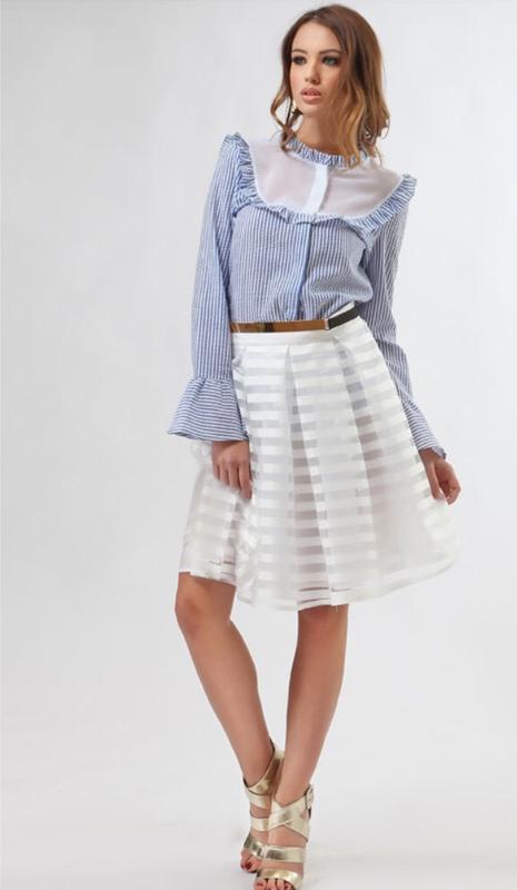 Итальянская блуза рубашка mivite