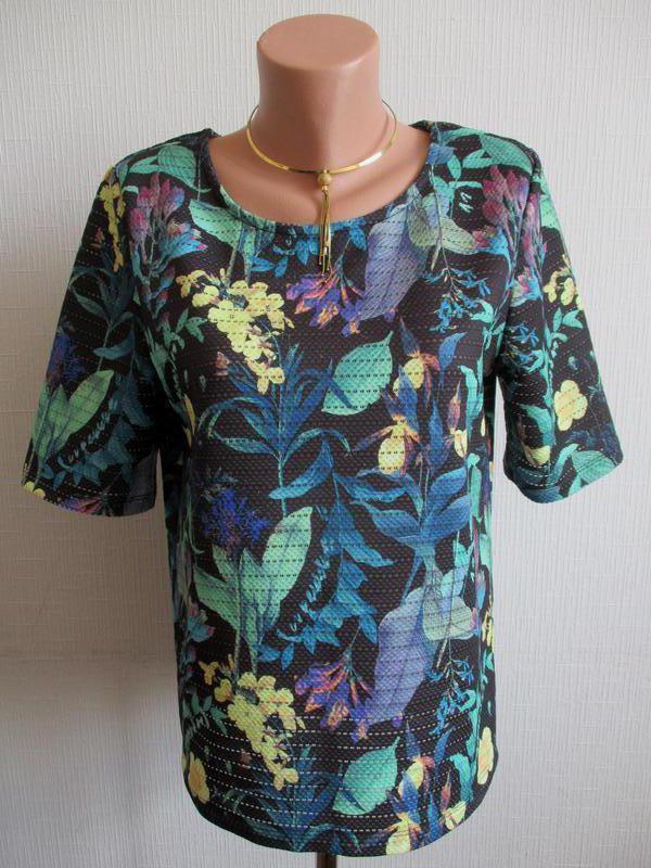 Плотная блуза в цветочный принт next