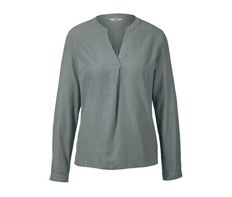 Натуральная хлопковая рубашка в полоску tcm tchibo