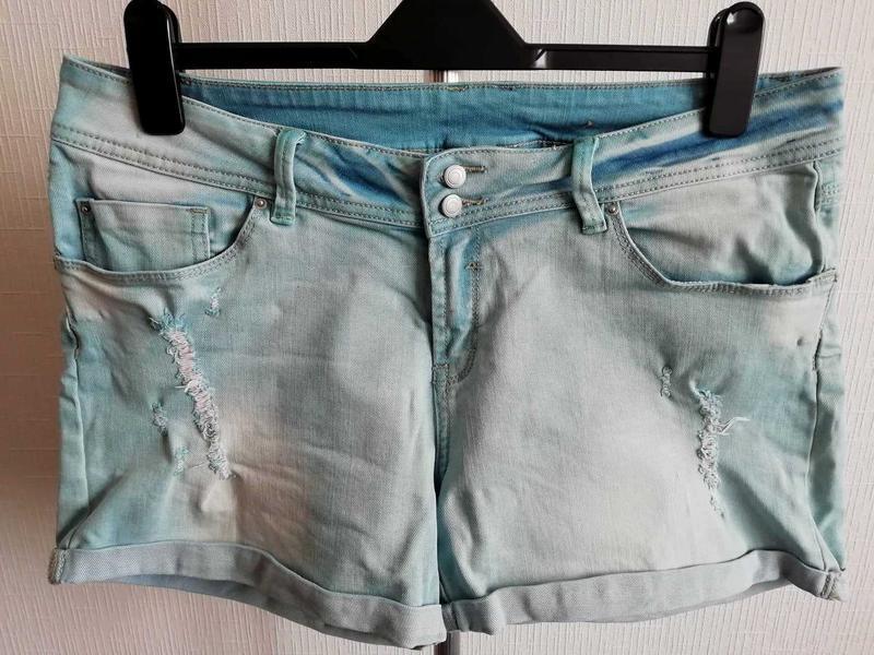 Джинсовые короткие шорты shorts