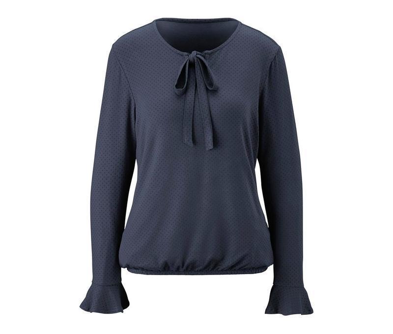 Трикотажная блуза в мелкий горох tcm tchibo