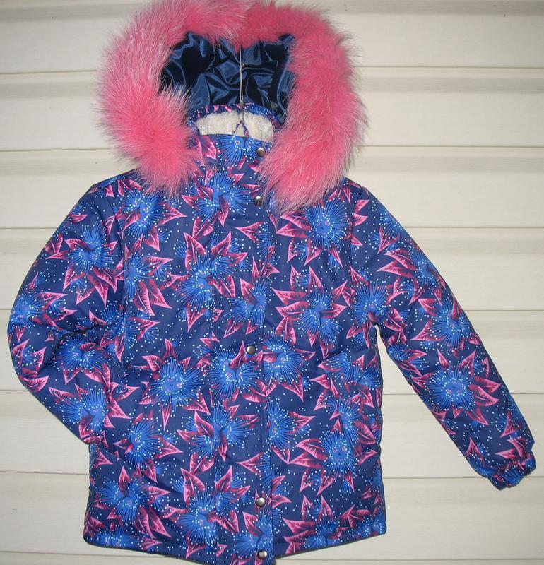 Зимняя курточка для девочки - Фото 7