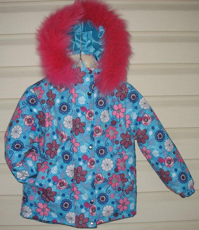 Зимняя курточка для девочки - Фото 8