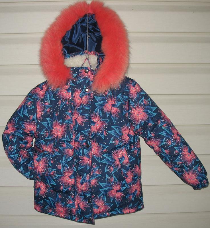 Зимняя курточка для девочки - Фото 9