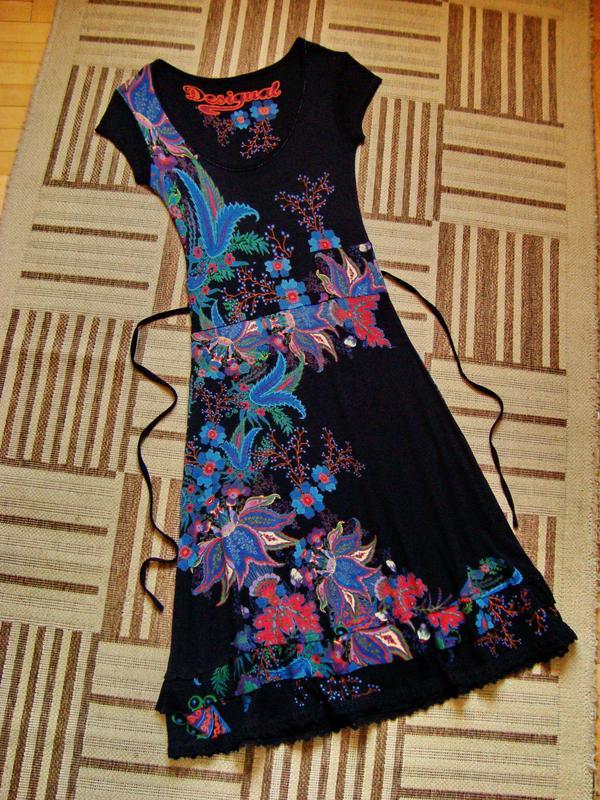 Desigual, оригинал, платье, размер S-М.
