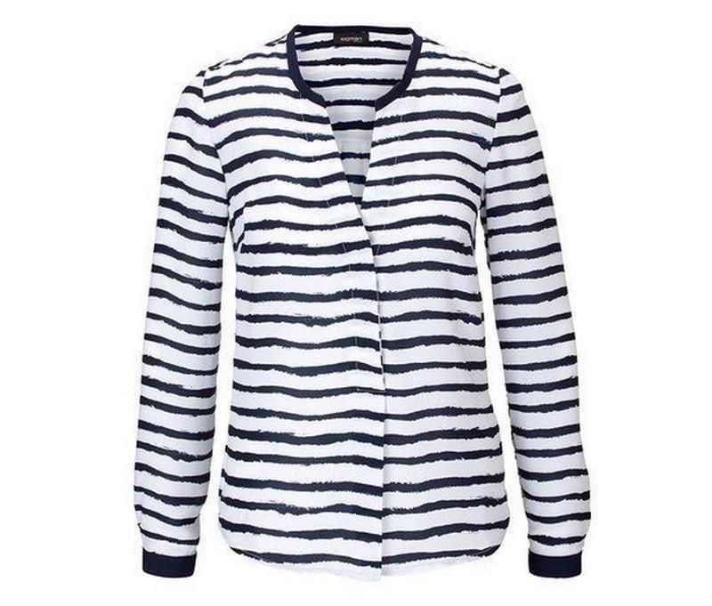 Стильная блуза tcm tchibo (германия) размер евро 40 (наш 46)