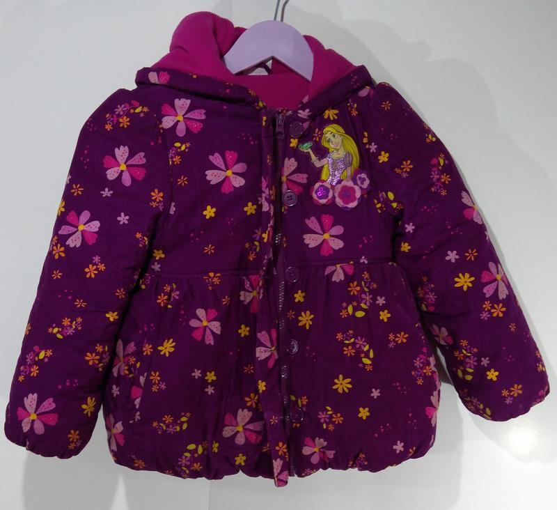 Зимняя куртка на флисе размер 116