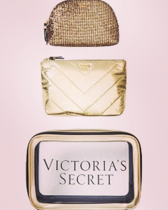Victoria's secret набор косметичек виктория сикрет