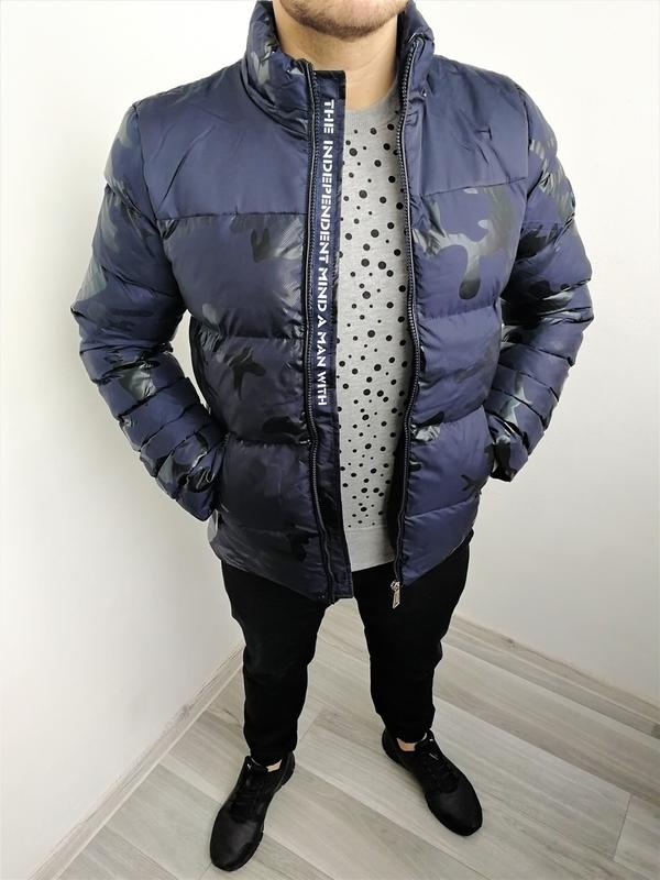 Новинка Мужская Зимняя Куртка - Фото 2