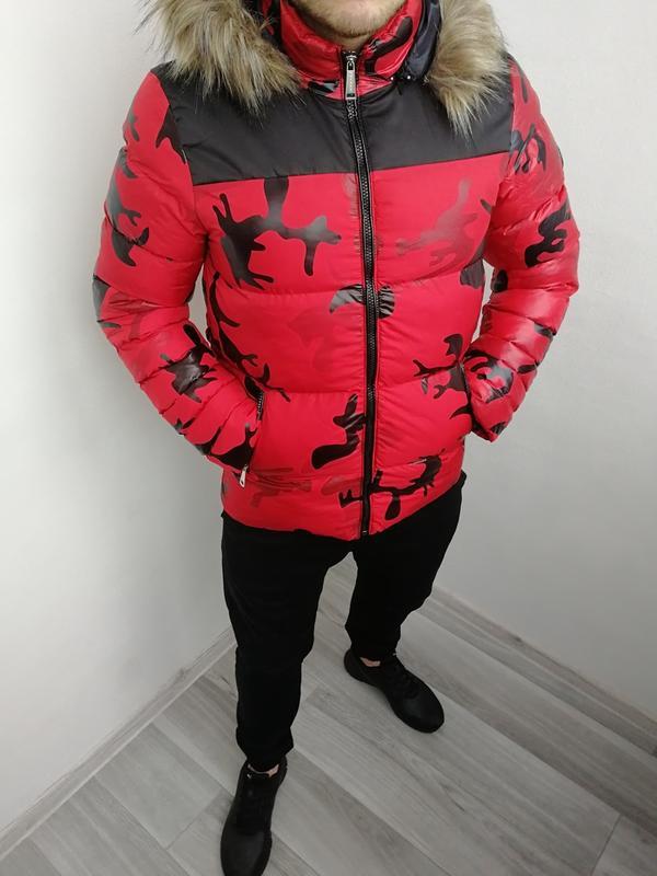Новинка Мужская Зимняя Куртка