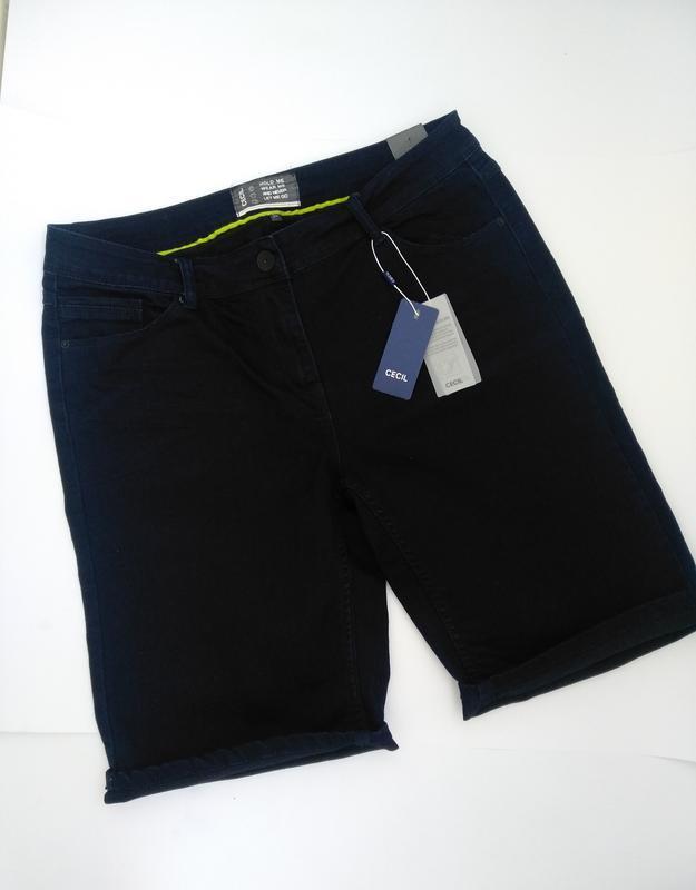 Нові джинсові шорти cecil
