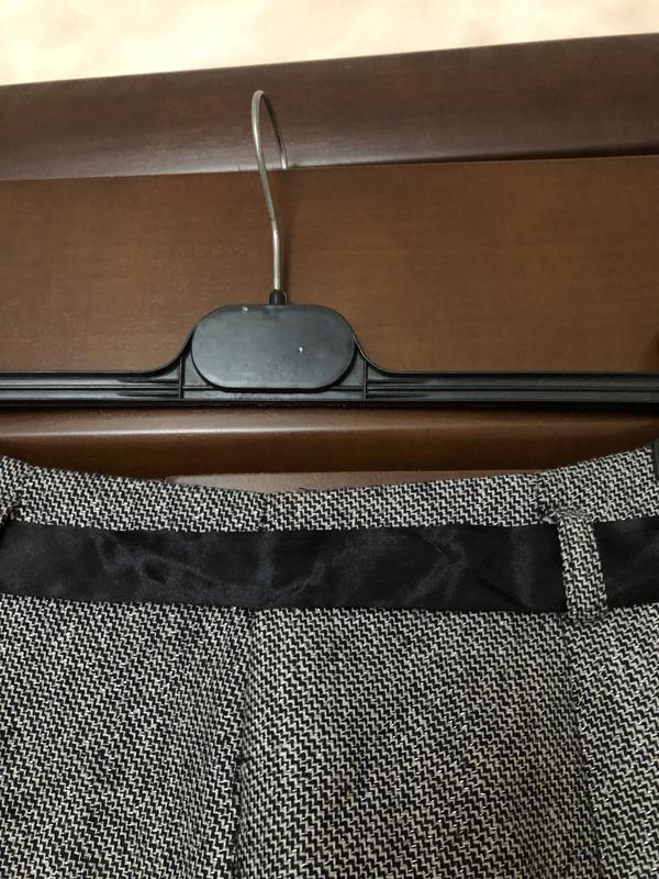 Твидовая юбка клёш с серебряной нитью от kalamton р-р м/46 наш