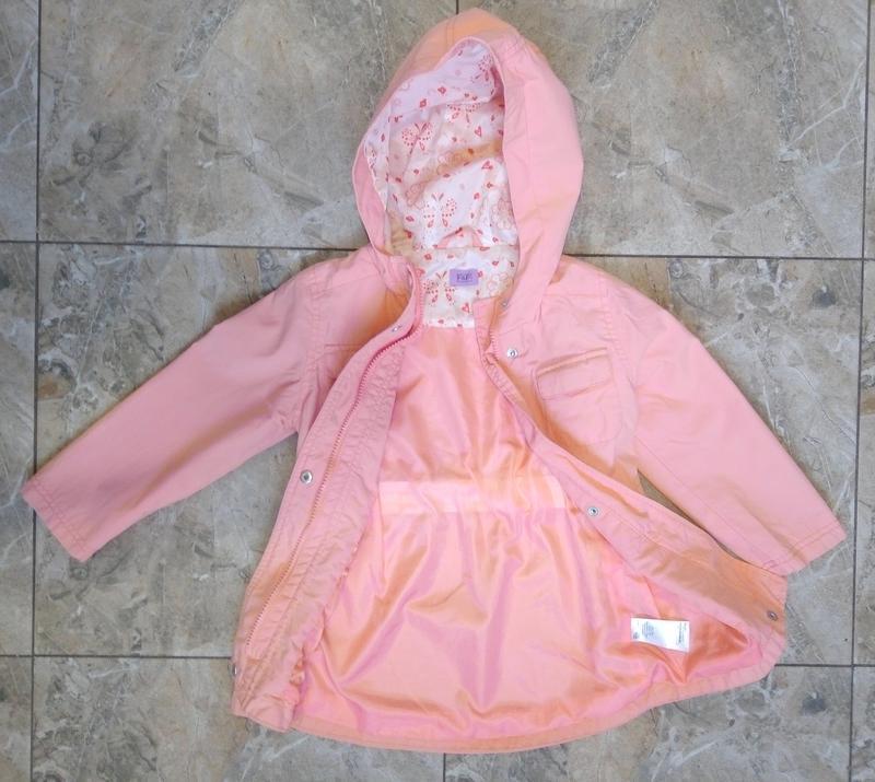Весенняя куртка девочке 4-5 лет