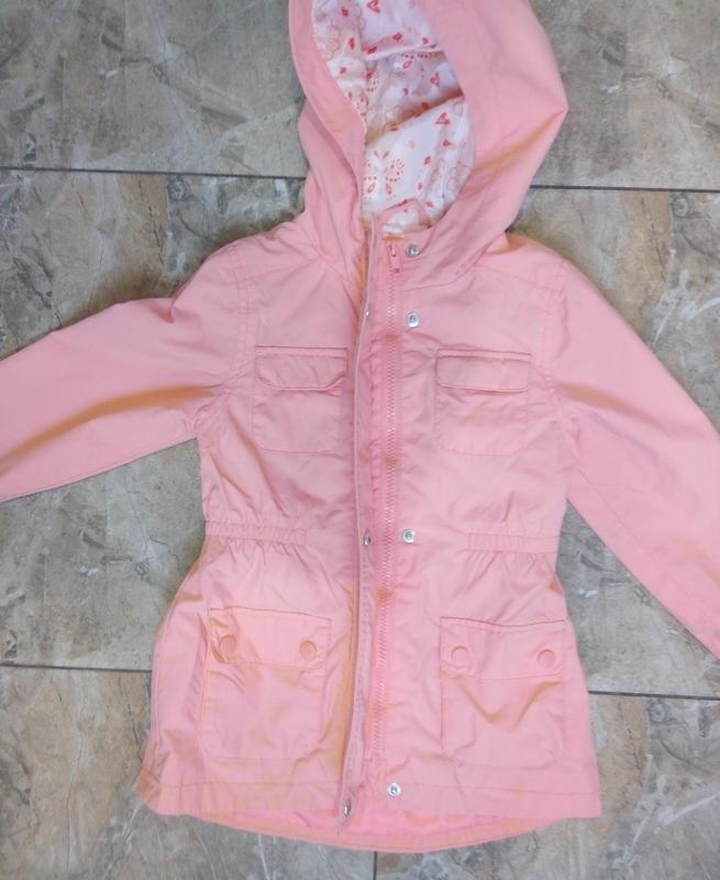 Весенняя куртка девочке 4-5 лет - Фото 2