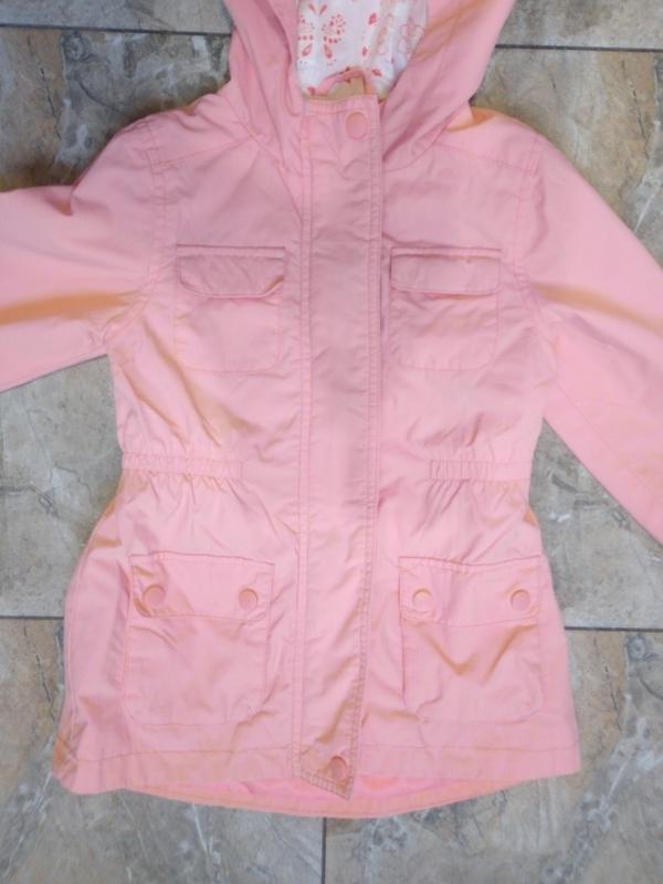 Весенняя куртка девочке 4-5 лет - Фото 3