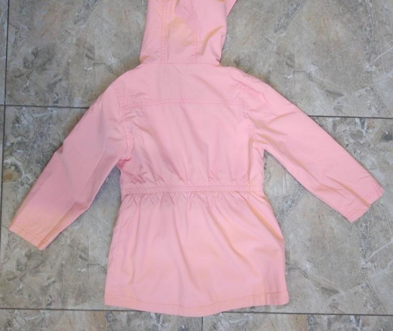 Весенняя куртка девочке 4-5 лет - Фото 4
