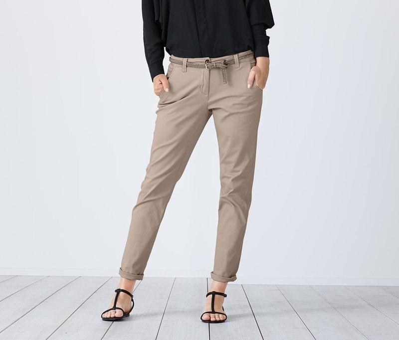 Стильные и удобные брюки, штаны chino от tcm tchibo, германия