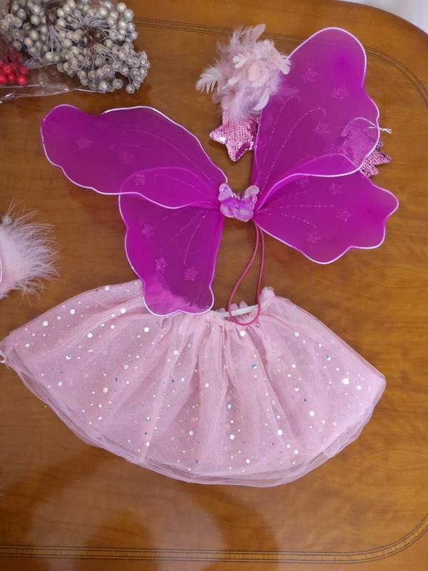 Карнавальный костюм  юбка и крылья