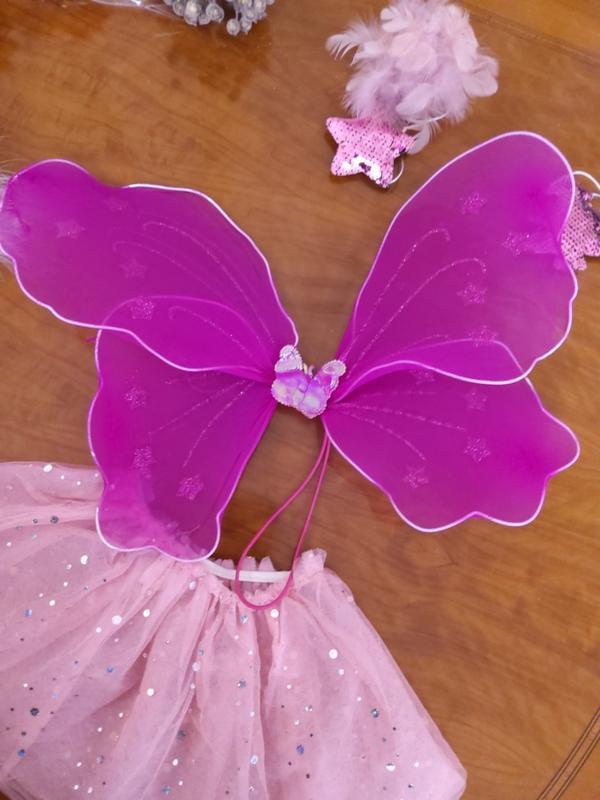 Карнавальный костюм  юбка и крылья - Фото 2