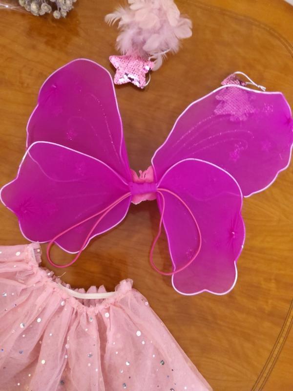 Карнавальный костюм  юбка и крылья - Фото 3