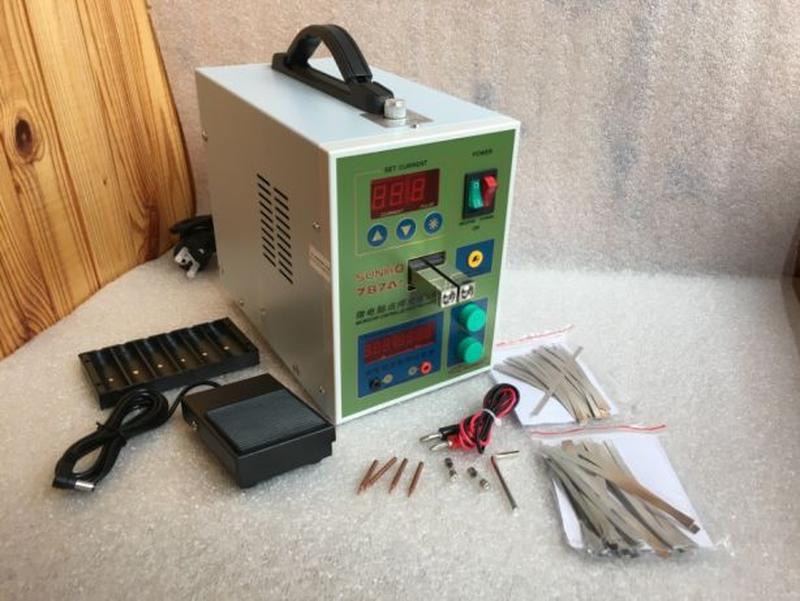 Аппарат точечной контактной сварки SUNKKO787A+ для пайки аккум...
