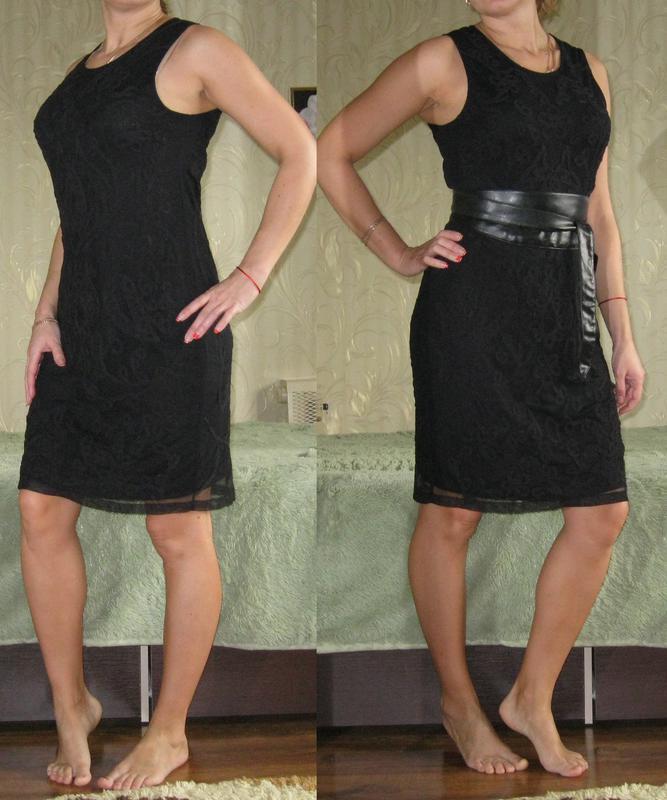 Кружевное платье-футляр zara - оригинал! размер 44-46-48