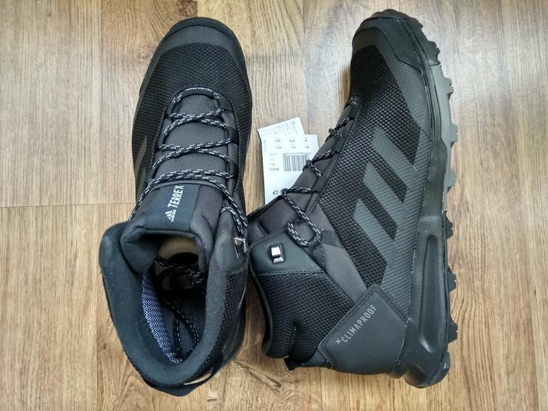 Зимние водонепроницаемые ботинки кроссовки adidas terrex tivid... - Фото 7