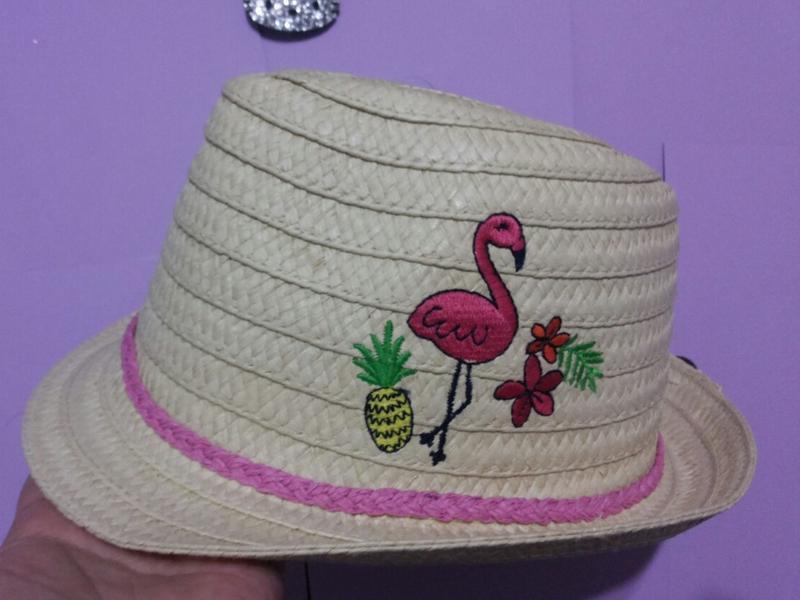 Соломенная шляпка george 8-12 лет для маленькой принцессы