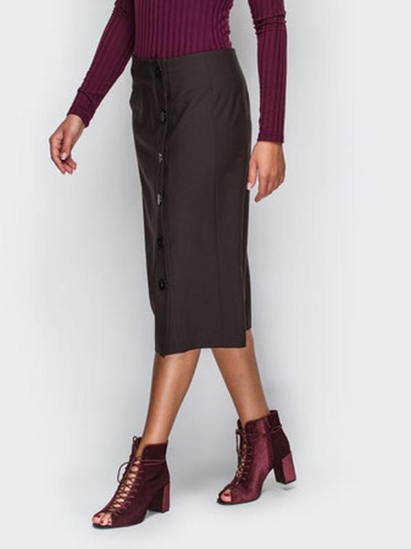 Теплая,стильная юбка миди,шерсть германия,c&a