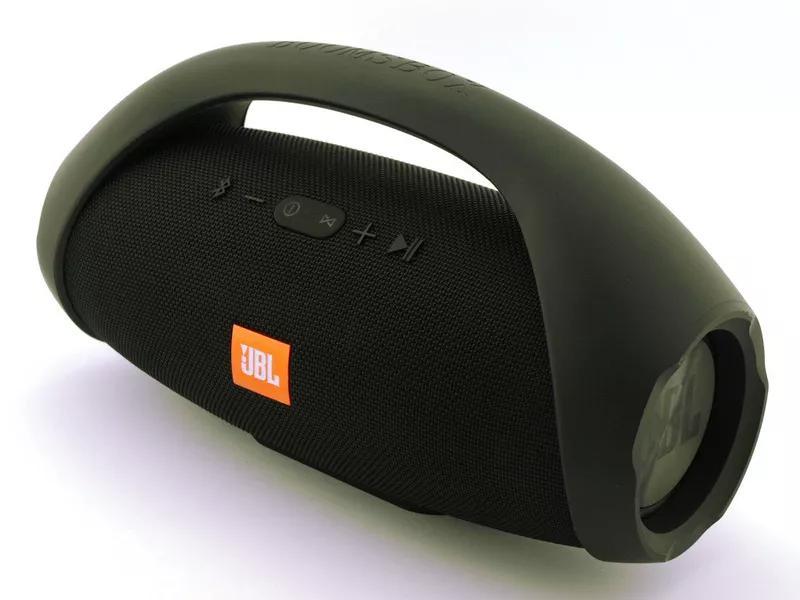 Портативная колонка JBL Boombox с ручкой(большая)- 34 см, реплика - Фото 5