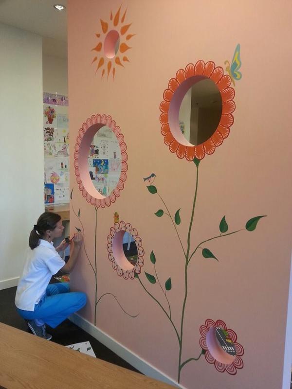 Намалюю акрилом на стіні, дверцятах, інших поверхнях нескладні...