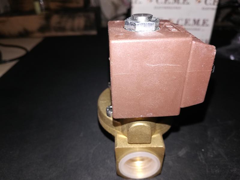 Клапан электромагнитный CEME 8614