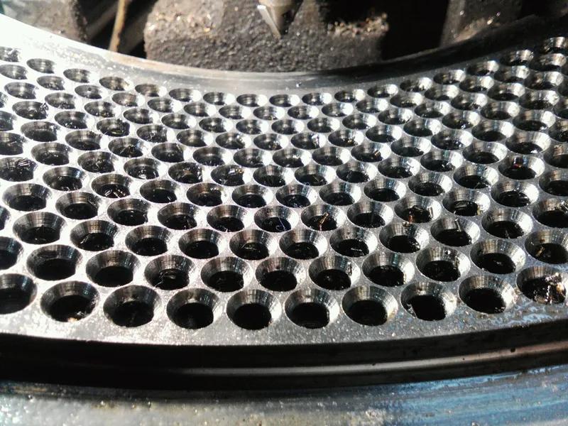Ремонт матриц грануляторов огм 0.8 и огм 1.5