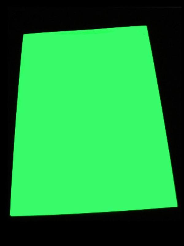 Светящаяся в темноте фотобумага формата А3 и А4