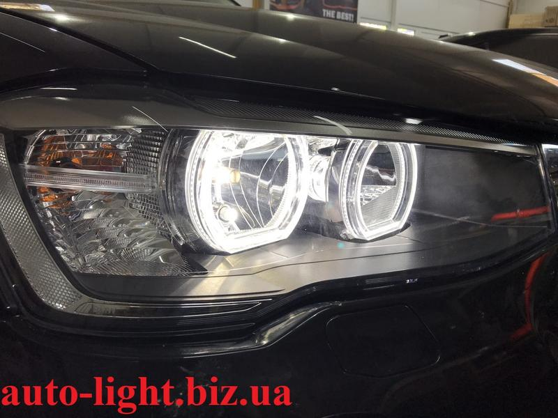 Светодиодные ангельские глазки BMW F стиль