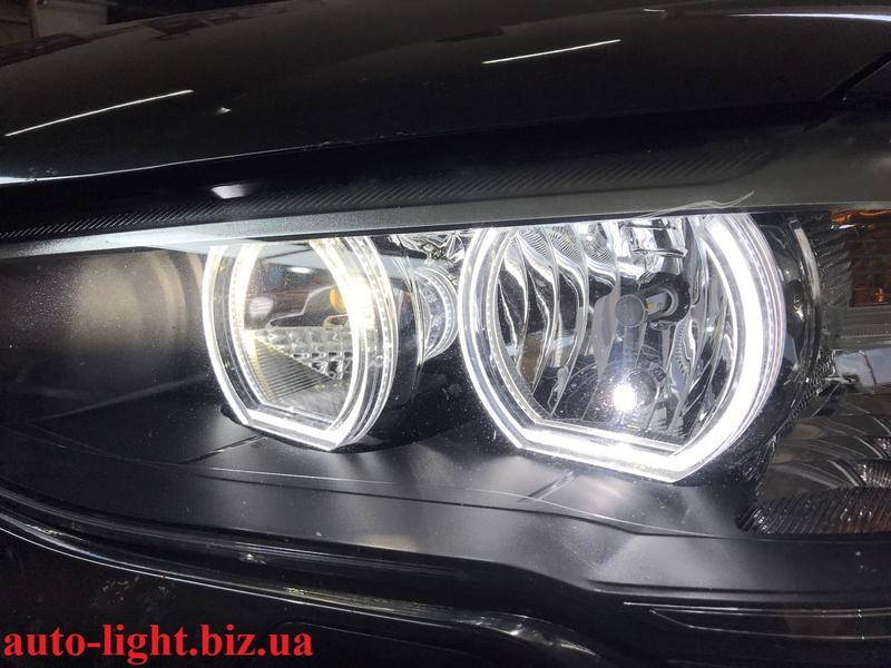 Светодиодные ангельские глазки BMW F стиль - Фото 4